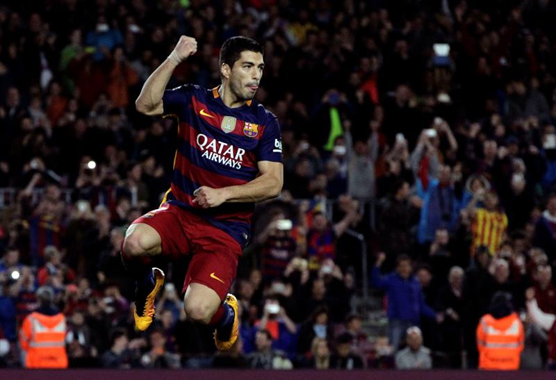 Tabla de goleadores de la liga de España: Suárez desplazó a Cristiano Ronaldo
