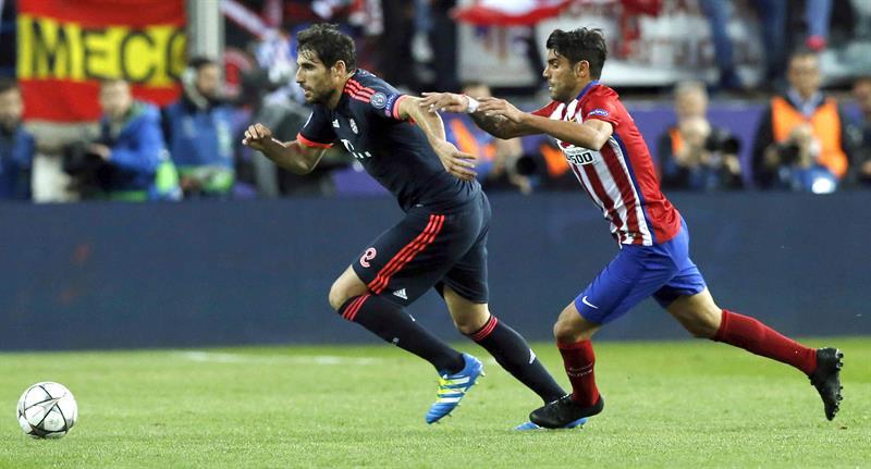 Atlético de Madrid aventaja 1-0 a Bayern Munich en la semifinal de la Champions League