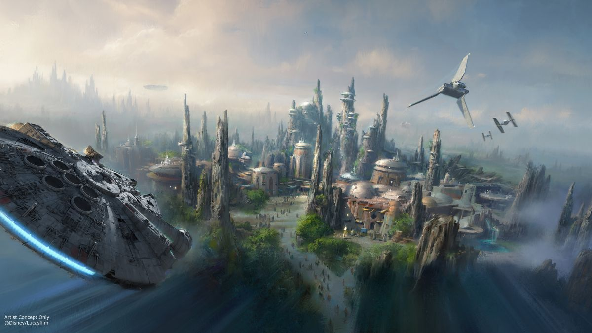 Empieza construcción de área 'Star Wars' en parques de California y Florida (fotos)
