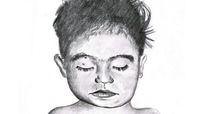 """Autoridades mexicanas buscan a la familia de Angela, """"La niña de la maleta"""""""