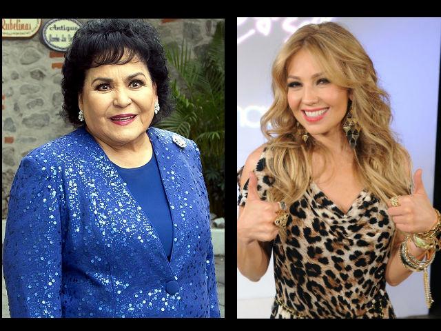 Carmen Salinas desata polémica por comentarios sobre enfermedad de Thalía