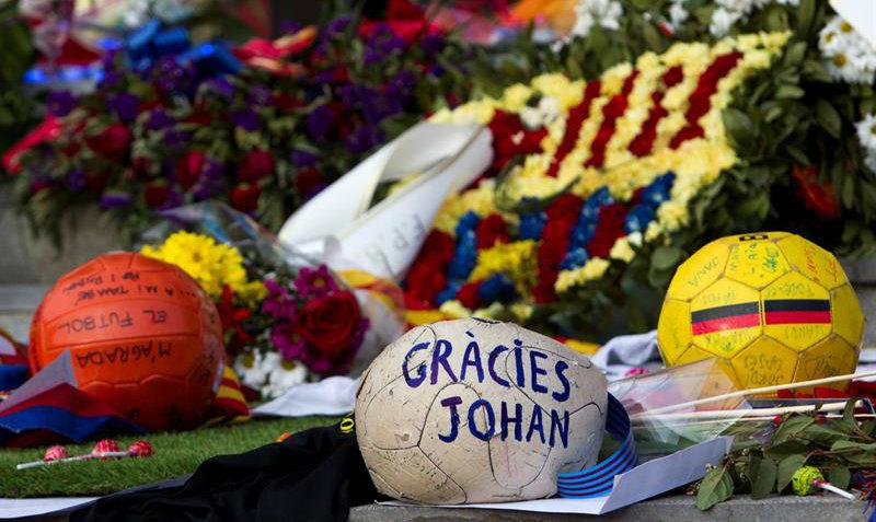 Checa las camisetas del Barcelona y Maccabi Tel Aviv en honor a Cruyff