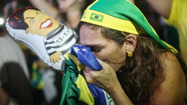 Las manifestaciones en favor del impeachment han sido hasta ahora más numerosas que las de apoyo a Rousseff.