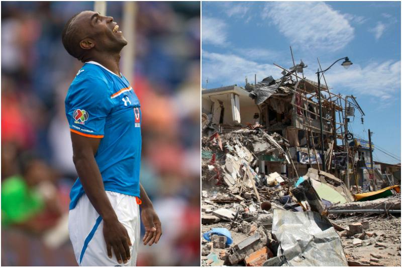 El fútbol se solidariza con Ecuador tras el terremoto del sábado