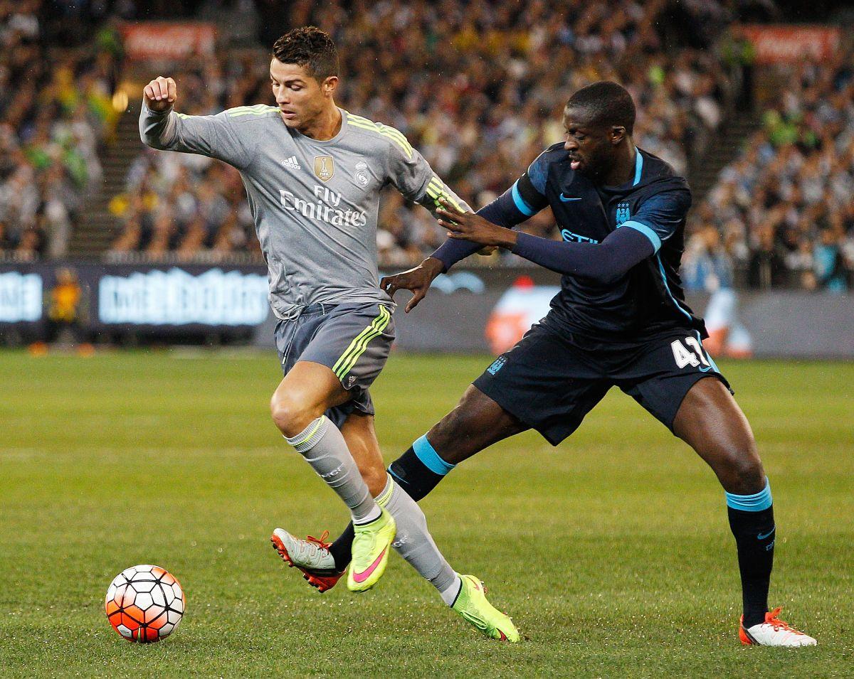 Cristiano Ronaldo y Touré Yaya, dos jugadores emblemáticos de sus respectivos equipos.