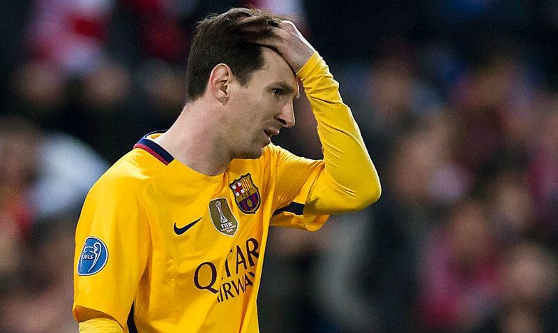 Messi registra su peor racha de la historia con el Barcelona
