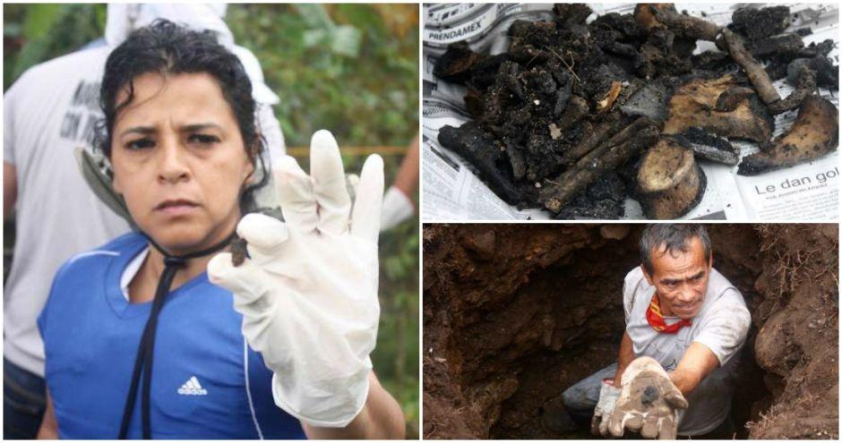 """500 restos humanos, 15 """"cocinas"""" y máquinas para triturar huesos… en 15 días"""