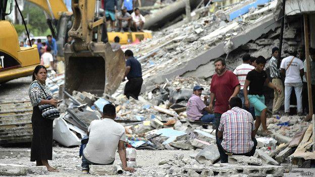 Cómo ayudar a las víctimas del terremoto en Ecuador