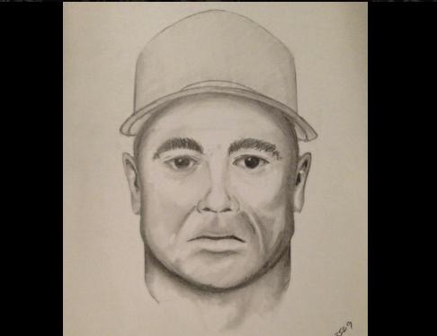 El Sheriff de Orange difundió este retrato hablado del sospechoso.