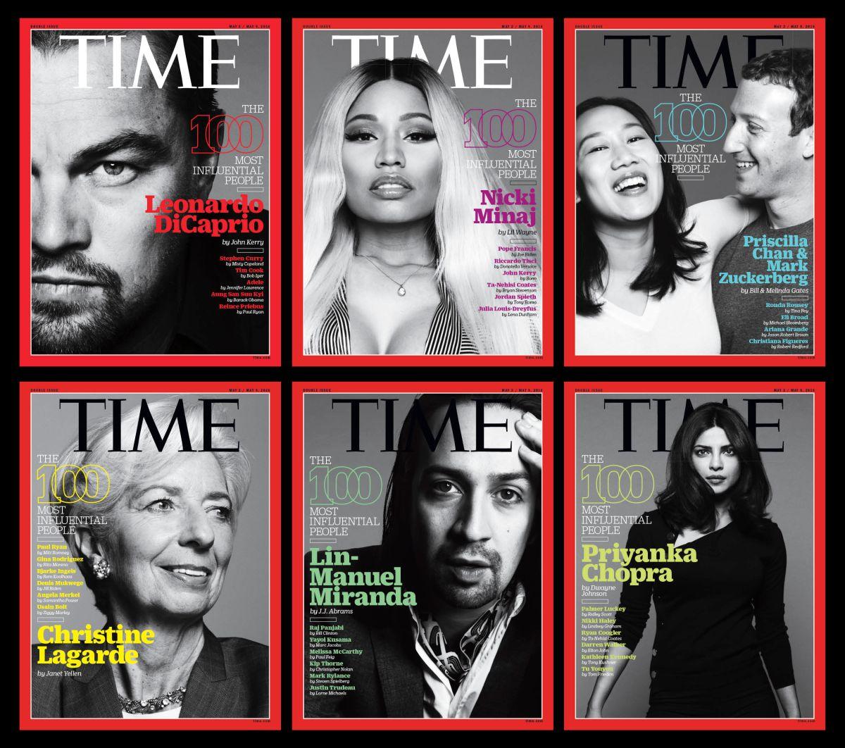 Estos son los latinos incluídos entre los 100 más influyentes de Time