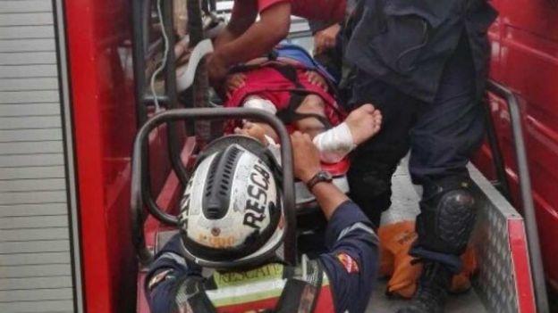 Rescatan con vida a anciano 13 días después del terremoto en Ecuador