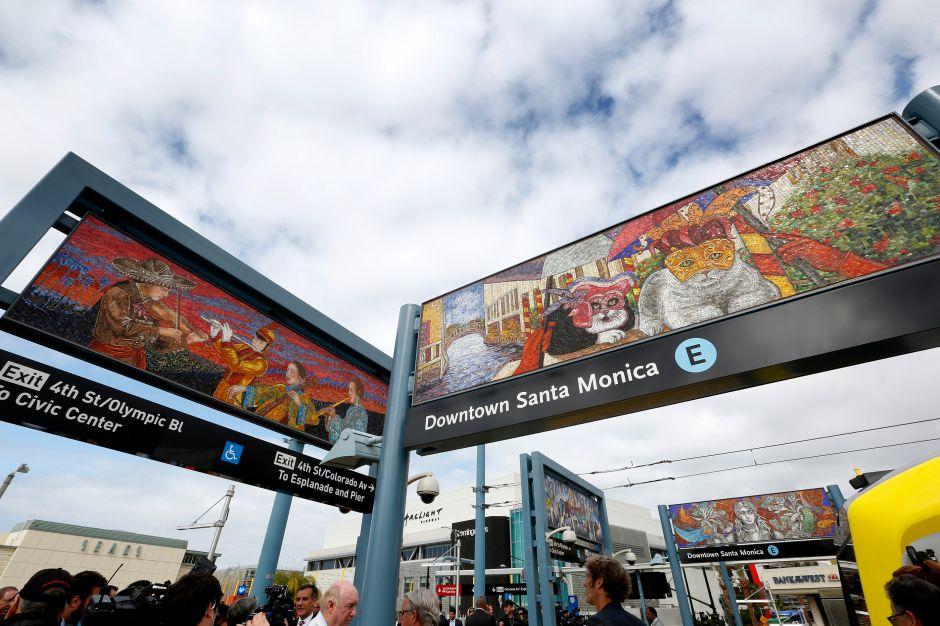 #BuenosDíasLA: Viaja a Santa Monica en tren… ¡y gratis!