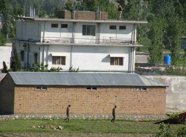 En esta vivienda estaba escondido Bin Laden en Abottabad.
