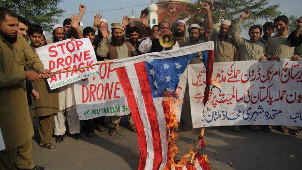 Los ataques con drones de EEUU sobre territorio de Pakistán ha sido un motivo de fricción entre ambos países.