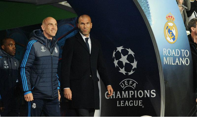 """""""Zizou"""" se ganó la confianza de la directiva del Real Madrid."""