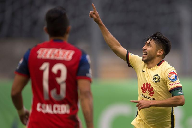 Video: el gran gol de Oribe Peralta que puso al 'Ame' en semifinales