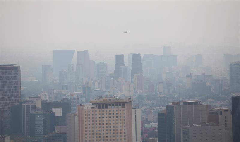 La Ciudad de México no puede con la contaminación