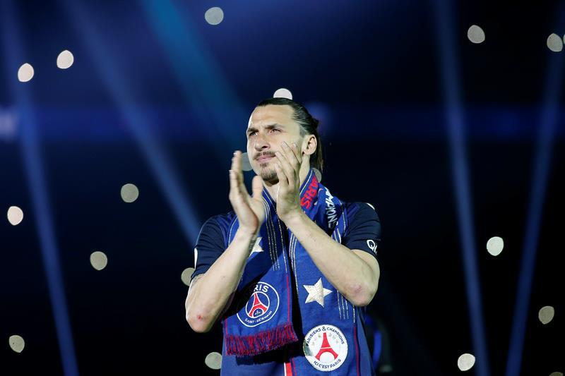 Como leyenda: Zlatan Ibrahimovic metió 38 goles y supera el récord de Bianchi