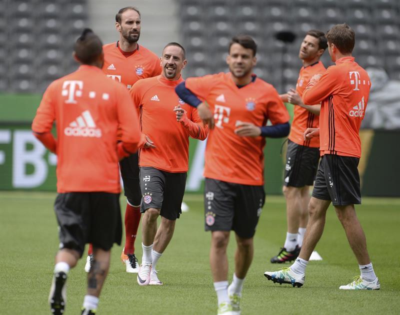 Bayern Munich parte como favorito ante Borussia Dortmund en la final de la Copa de Alemania