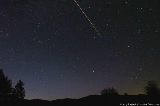 Cómo ver la lluvia de meteoros de esta noche