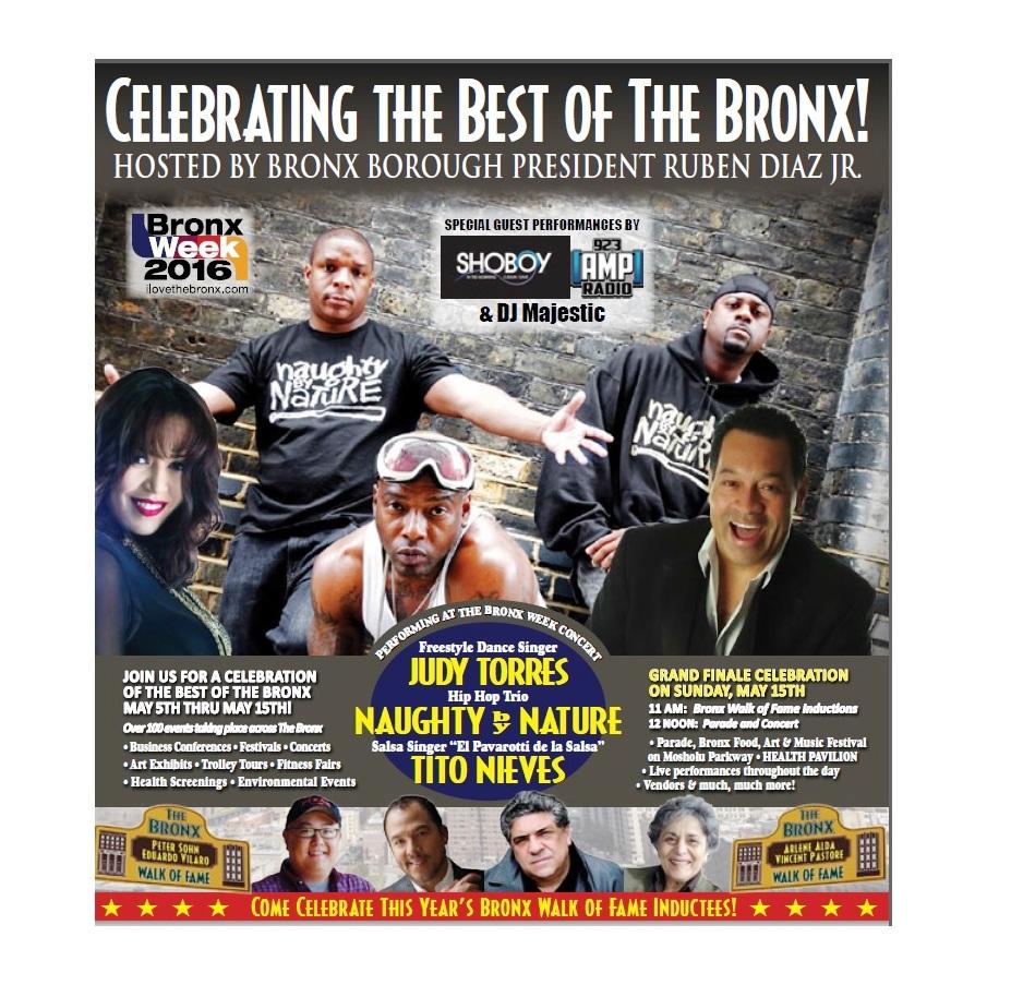 """""""La semana de El Bronx"""" se realizará del 5 al 15 de mayo"""