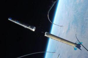 Mira este increíble video de una GoPro atada a un cohete