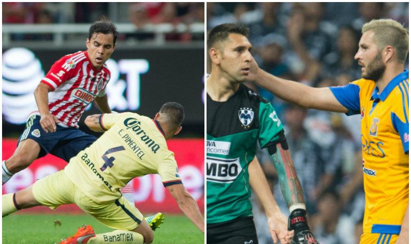 La Liguilla del Clausura 2016 arrancará con dos Clásicos explosivos