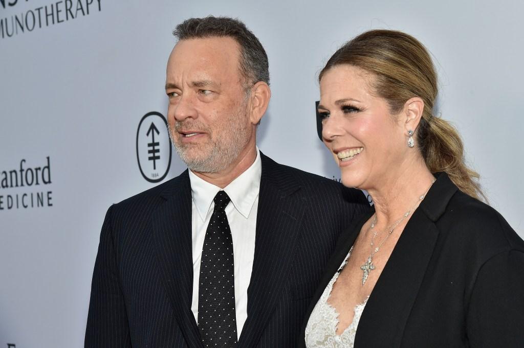 Hanks lleva 28 años casado con su segunda esposa la actriz Rita Wilson.