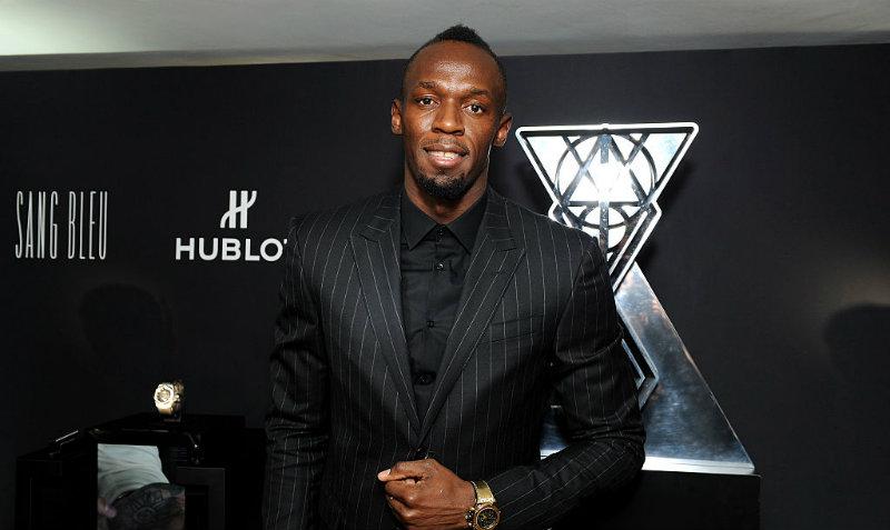 Futbolista del Arsenal reta a Usain Bolt