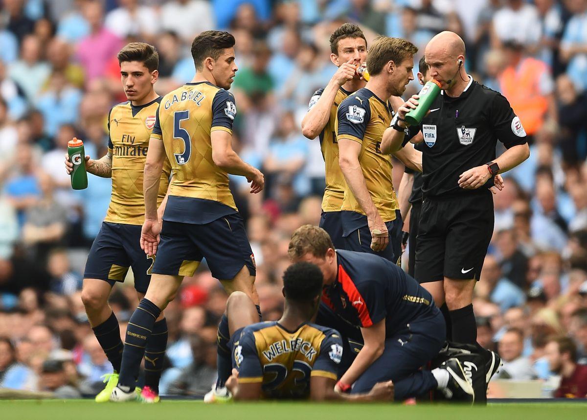 El inglés Danny Welbeck es operado y se pierde la Euro 2016