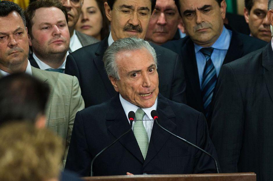 La primera polémica del nuevo gobierno de Brasil: sin mujeres ni negros