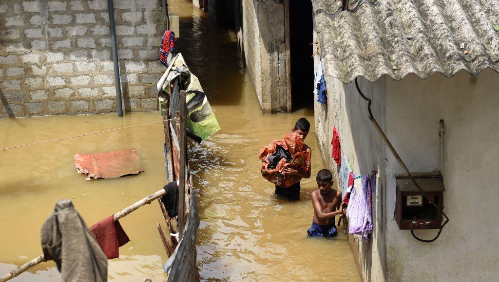 SRI-LANKA-WEATHER-RAIN-FLOOD