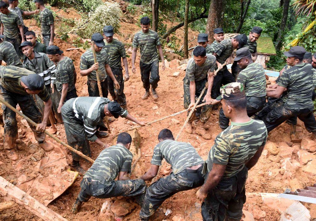 SRI LANKA-WEATHER-FLOODS