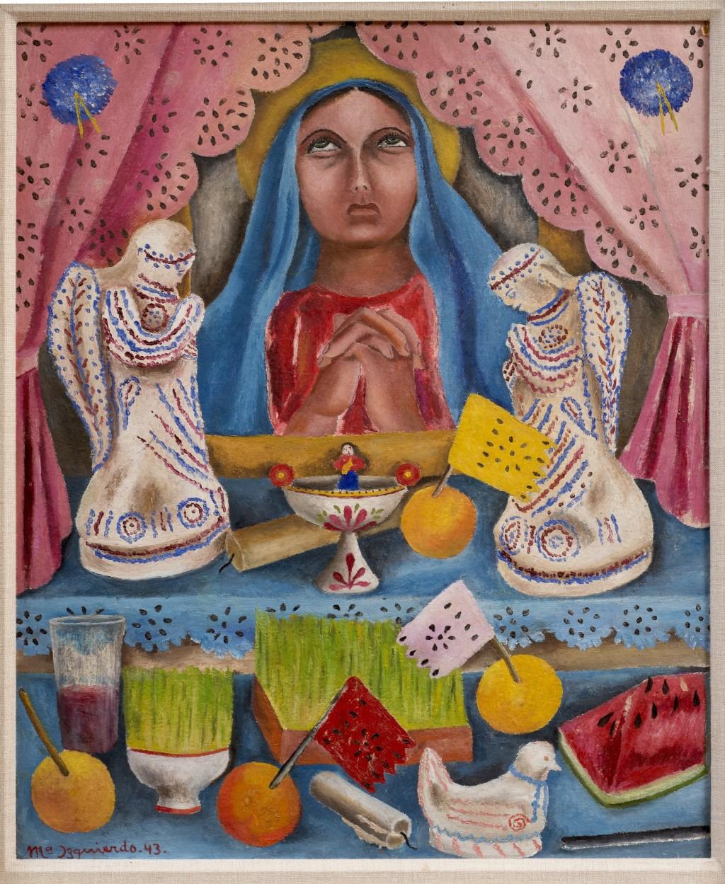 'Our Lady of Sorrows' (1943), de María Izquierdo.