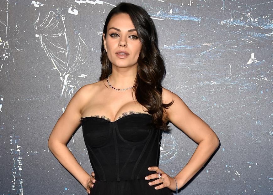Mila Kunis se siente afortunada de la buena relación de sus hijos