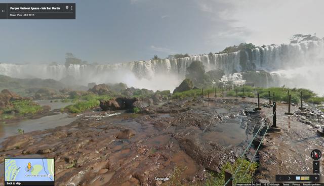 Ya puedes viajar a Argentina en Google Street View