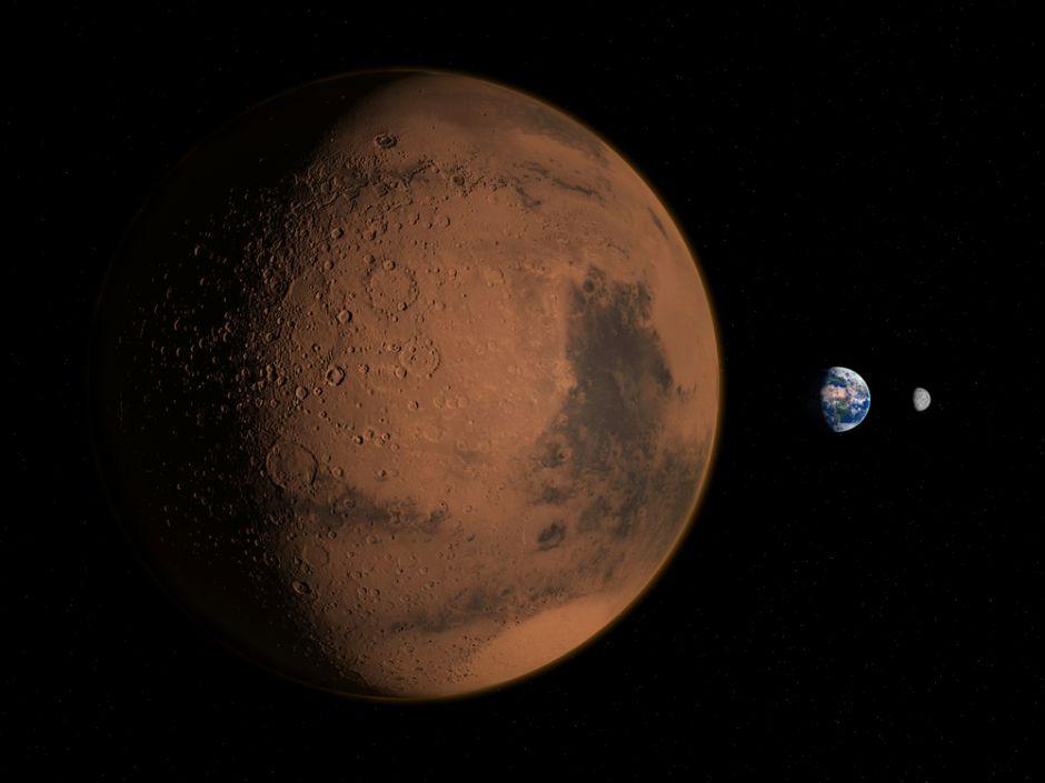 VIDEO: Así se ve Marte conforme se acerca a la Tierra
