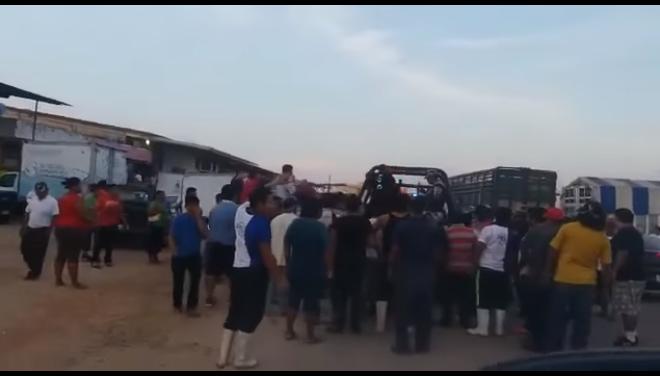 Impiden secuestro e intentan linchar a presuntos criminales en Veracruz (VIDEO)