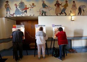 """Primarias en California: """"Yo voté... contra el racismo"""""""