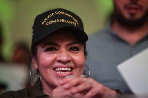 Nestora Salgado pide liberación de presos políticos en México