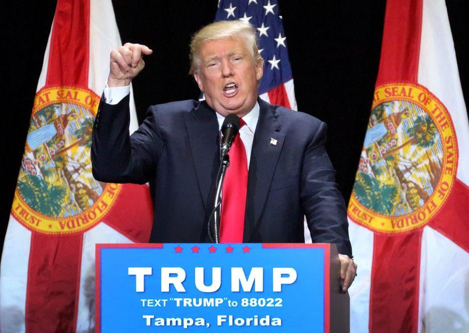 """Trump: """"Soy la persona menos racista que hayan conocido"""""""