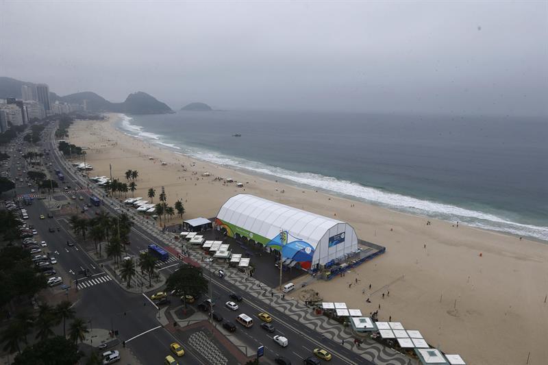 Inauguran enCopacabana la tienda oficial de los Juegos OlímpicosRío 2016
