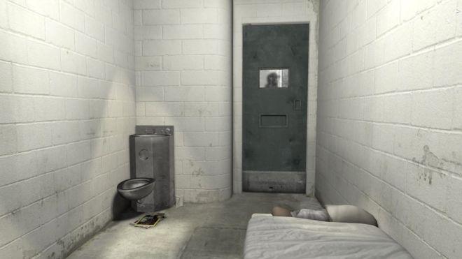 """""""Abres los ojos y lo primero que ves es el baño..."""". Así se vive """"6x9, una experiencia virtual del confinamiento solitario""""."""