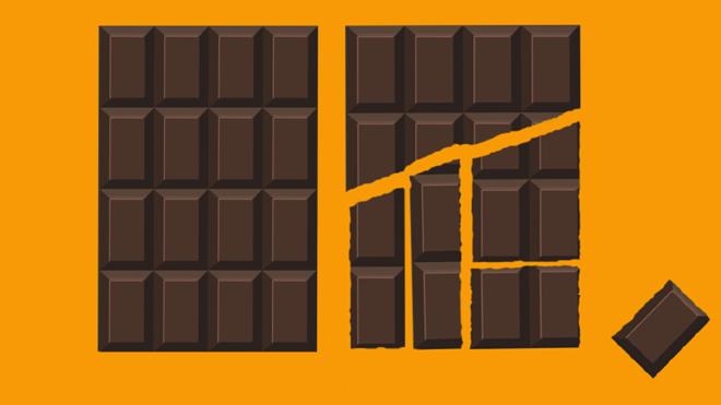 He aquí la explicación de la barra de chocolate infinita que se ha vuelto viral
