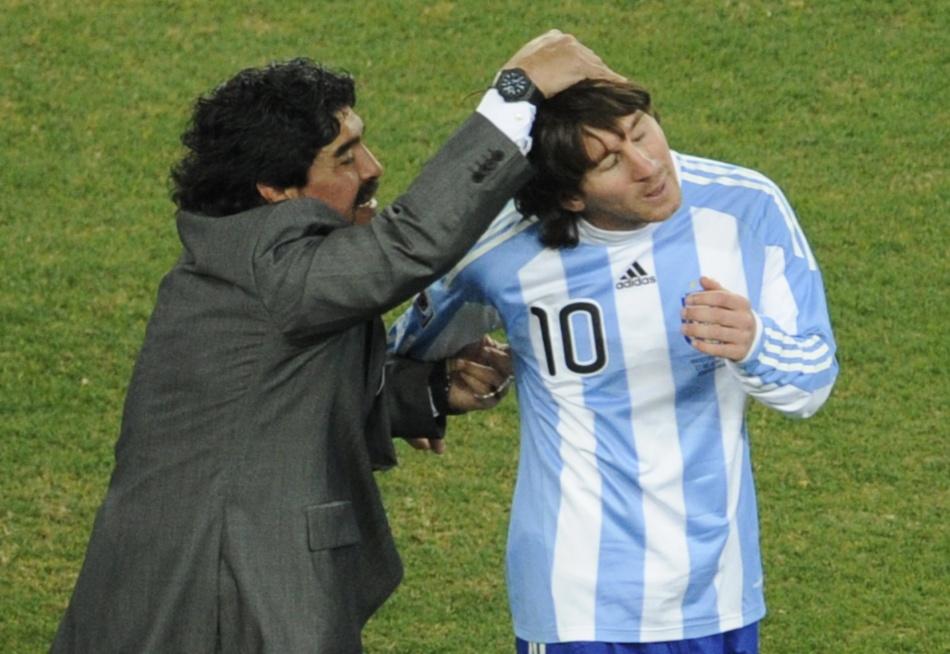 Maradona habló sobre la renuncia de Messi a la selección de Argentina