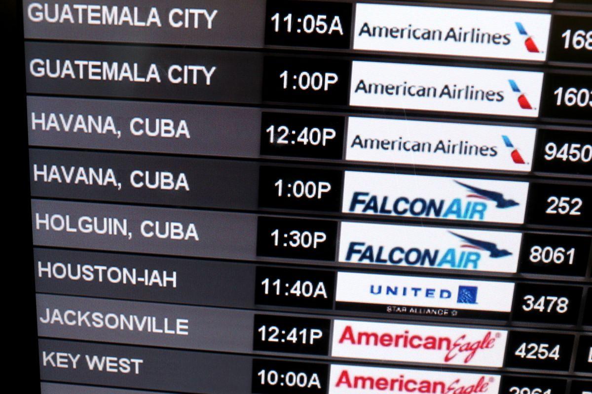 Seis aerolíneas estadounidenses reciben permiso para operar vuelos regulares a Cuba.