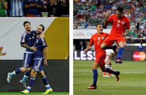 Copa América Centenario: duelo de goleadores Messi-Higuaín vs. Vargas-Alexis