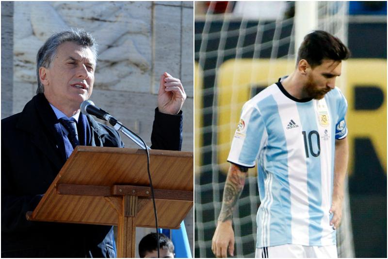 El presidente de Argentina pide a Messi que no se vaya