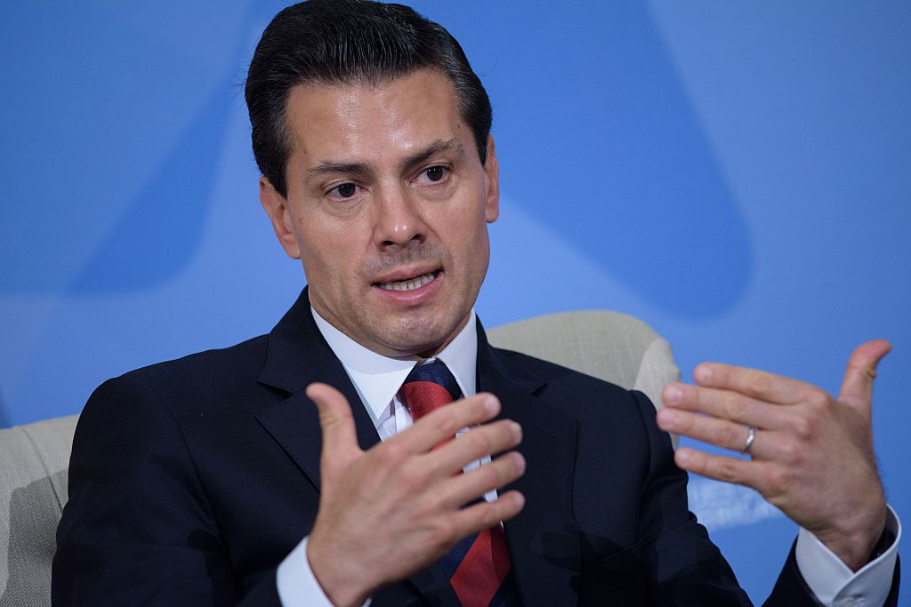 Peña Nieto responde a Trump: México no acepta amenazas y no pagará el muro