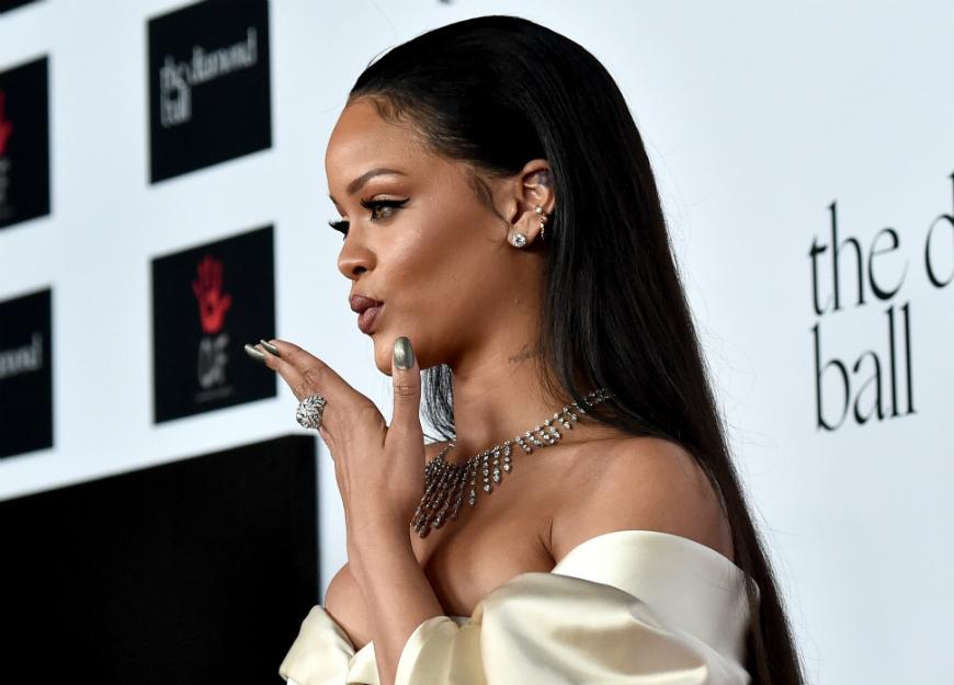 El meme con el que Rihanna se burló de las críticas de su peso